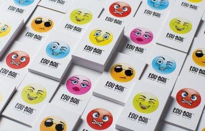 EDU-BALL BUSINESS CARDS PREVIEW
