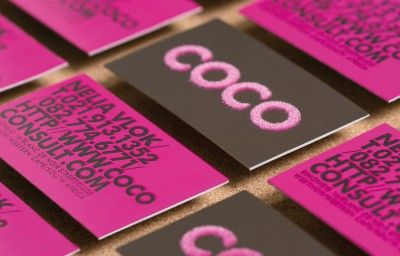 COCO BUSINESS CARDS PREVIEW